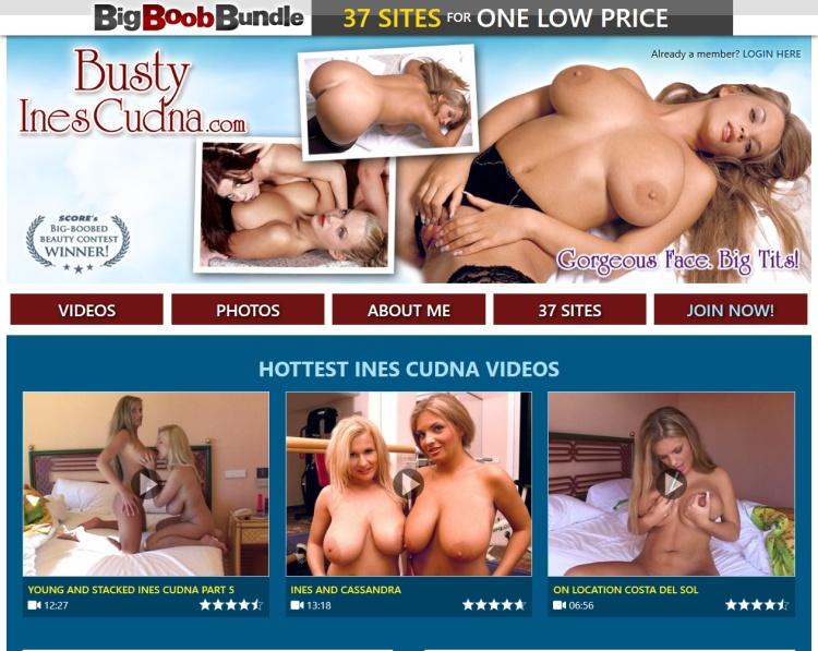 Busty Ines Cudna